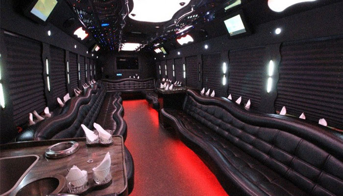 36 Pax Limo Bus Service Chicago